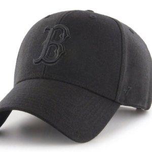Boston Red Sox 47 Brand MVP Snapback Hat - Black